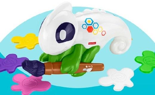 費雪早教玩具:智能變色語音系統,鍛煉孩子學習能力