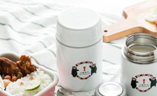 熊本熊餐具套裝:陶瓷PP與不銹鋼材質結合,安全健康的呆萌餐具