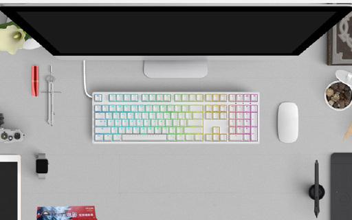 不用驅動就能調色的機械鍵盤,N種燈光按按就有