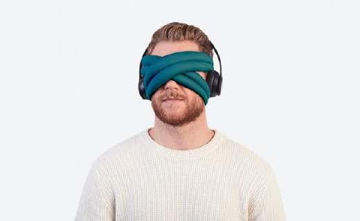 """鴕鳥枕團隊新作,""""多功能眼罩""""讓你隨時打盹!"""