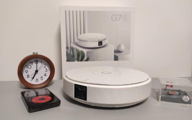 這是一臺非常適合臥室使用的投影儀|堅果G7S投影儀使用評測