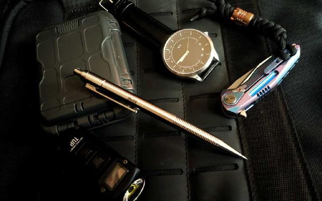 鈦合金自動鉛筆NTP40開箱、體驗