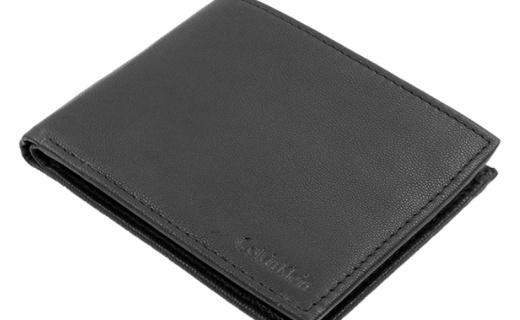 CK男士短款钱包:精细做工极具质感,价格老便宜了