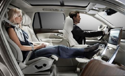 沃爾沃超級頭等艙,沒有副駕駛卻極致奢華!