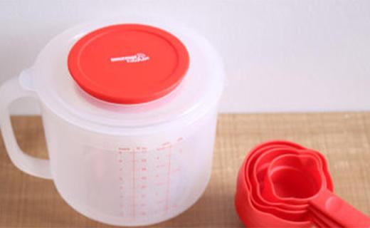 Gourmet Kitchen烘焙杯:防濺杯蓋多種量尺,烘焙新手專用