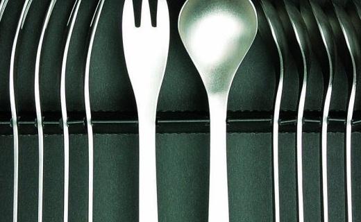 柳宗理餐叉14件套:美观实用有质感,日本精良制造