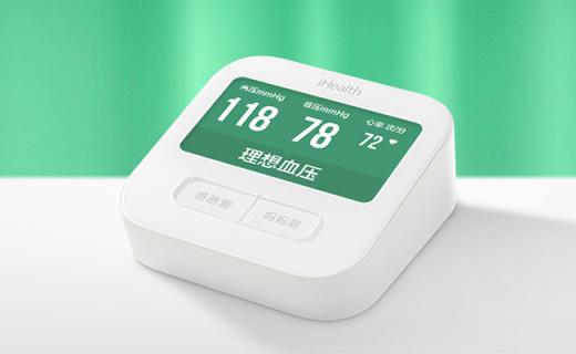 米家iHealth血壓計:4.3英寸彩屏查看更方便,支持真人語音播報