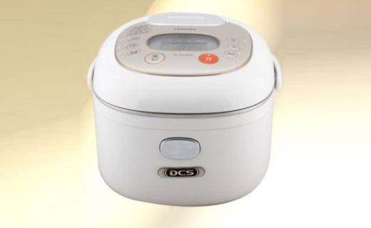東芝電飯煲:DCS溫控優質內膽,鎖住營養不流失