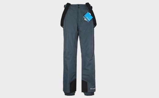 哥倫比亞滑雪褲:雙層設計舒適透氣,PU材質隔離紫外線