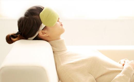 基本生活熏衣草眼罩:柔軟親膚緩解視覺疲勞,冷敷熱敷兩用