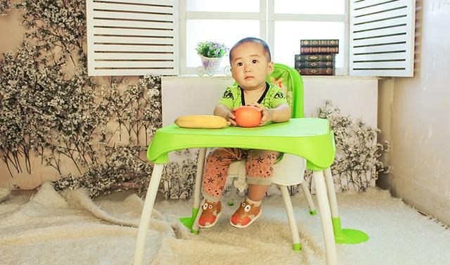 小崽崽的快樂成長之路 - 美泰費雪四合一餐椅體驗