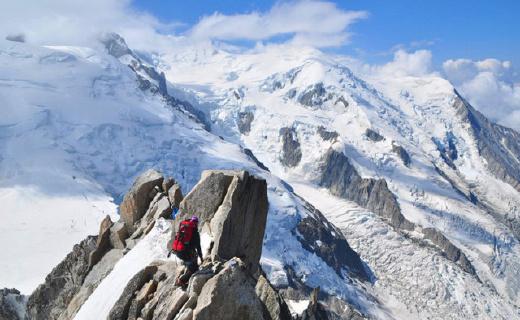 1塊軍表、穿越3個國家、環歐洲最高峰