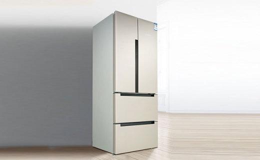 博世BCD484W冰箱:极简设计?#32617;?#25285;当,双循环风冷果蔬更新鲜