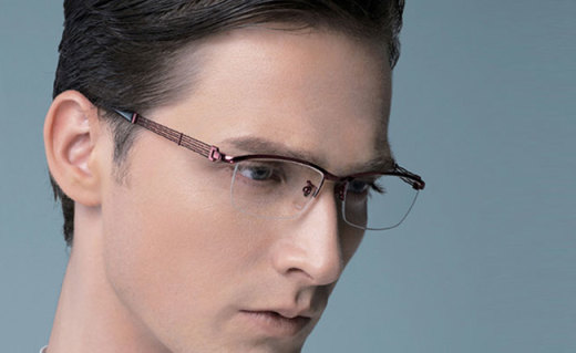 Charmant近視鏡框:高硬度純鈦材質,體現精英白領氣質