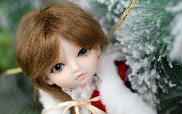 最美的新年礼物,来自小?#23376;?#21697;的仿真萌系BJD娃娃
