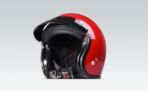 小牛骑行头盔:复古时尚外形,EPS缓震内?#27169;?#37329;属快插安全扣