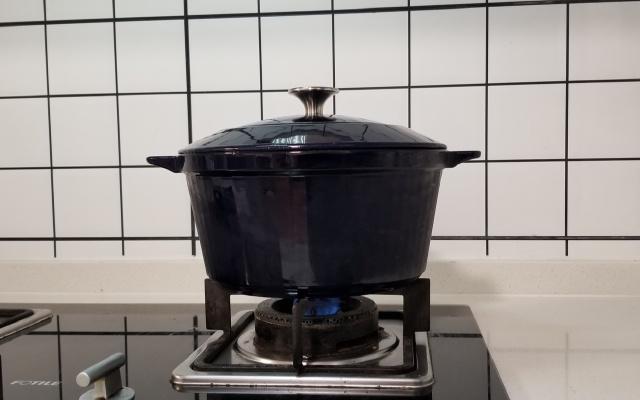 厨房好帮手velosan珐琅铸铁锅