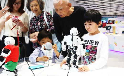 第二届CESEC共时展正式开幕!深圳市民开启全民科技狂欢