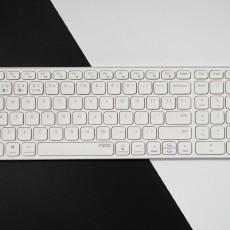 輕薄至極,精簡主義,雷柏E9350G多模無線刀鋒鍵盤評測