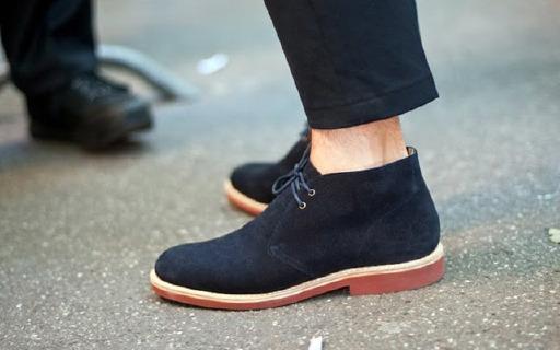 Tommy Hilfiger男士中帮靴:真皮材质柔软舒适,款式硬朗又百搭