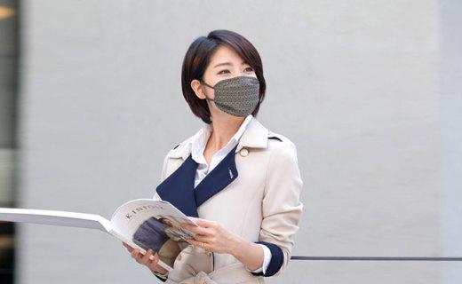 Misk防雾霾口罩:菱纹棉麻材质可换滤芯,有效抑菌保护口鼻