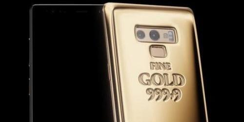三星推出黃金定制版Galaxy Note 9,這才是真 · 土豪金
