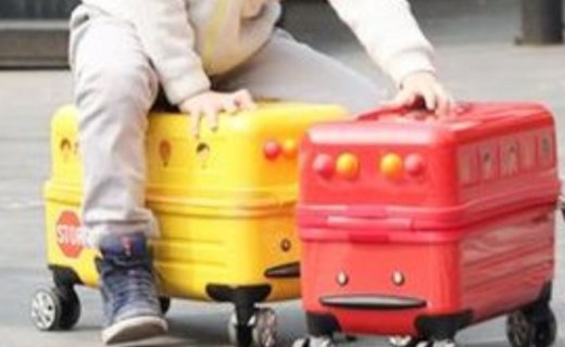 Travel Buddies兒童拉桿箱:超輕箱體設計,強韌耐磨,時尚配色