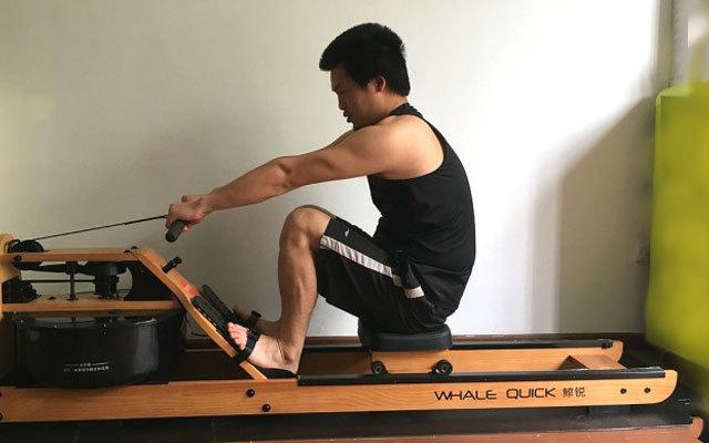 懒癌患者健身必选,鲸锐智能水阻划船机体验