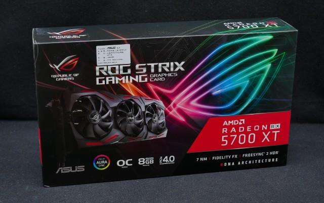华硕Rog STRIX RX5700XT 拆解测评