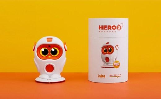 为英语启蒙而生!物灵Luka Hero S,更全能的绘本阅读机器人