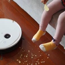 科沃斯DEEBOT N5扫地机器人,让孩子在洁净地板自在玩耍
