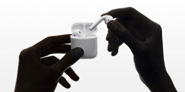无线充电终于来了!苹果发布AirPods 2代新款无线耳机
