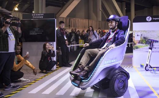 """「CES 2020」行走的头等舱!九号机器人发布年度""""懒人神器"""",还有更狂野的黑科技"""