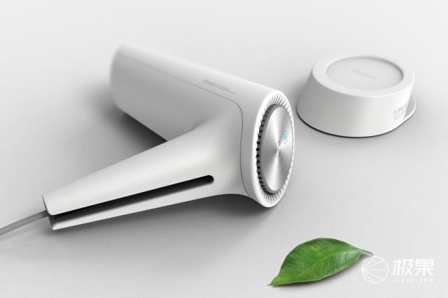 颜值至上!海外设计师推出史上最像树杈的吹风机...