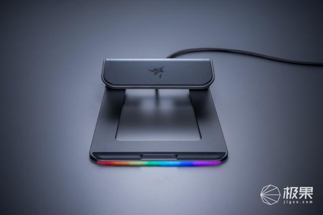 「新東西」雷蛇推出幻彩筆記本支架,配備USB3.0接口,支持RGB燈效
