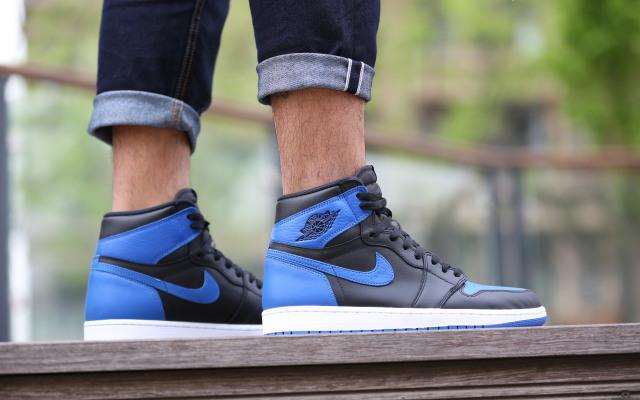 回味元年驚喜,Nike Air Jordan 1黑籃上腳體驗