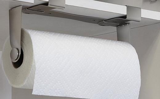 Umbra MOUNTIE騎警紙巾架:現代元素質感十足,貼心絨襯防滑防刮