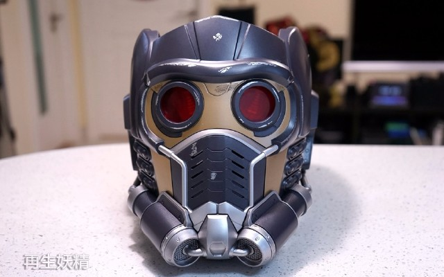 銀河護衛隊 Star-Lord 星爵可穿戴頭盔 開箱把玩