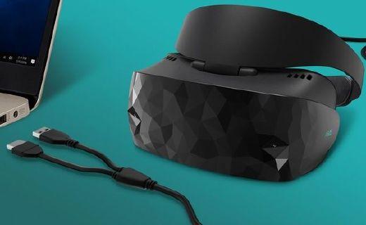 華碩推最新款MR混合現實頭顯,3D外觀3K分辨率