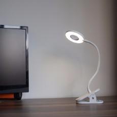 夜读神器:开箱Yeelight LED充电夹持台灯J1