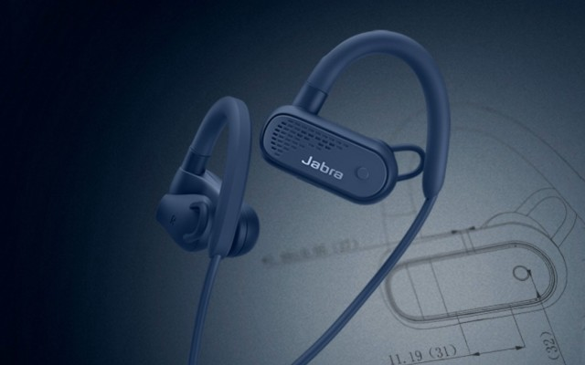 Jabra Elite Active 45e 海军蓝