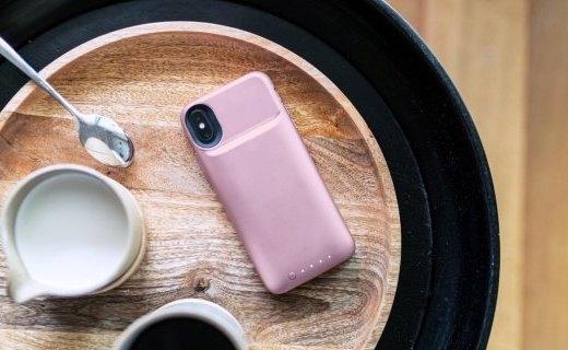 「新東西」更長時間!Mophie推出為iPhone Xs/Xr/Xs Max設計的新款電池保護殼