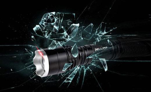 Pelliot強光手電筒:五檔光束隨意切換,省電便攜戶外好幫手