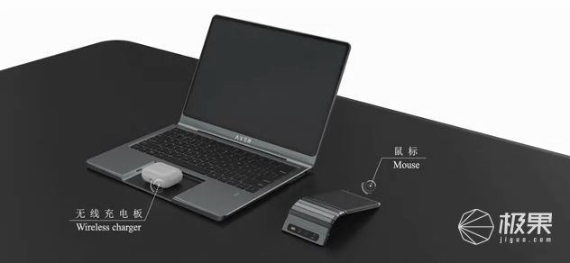 """中国设计师重造笔记本!将手机""""塞""""进电脑,多种形态变换,酷毙了..."""