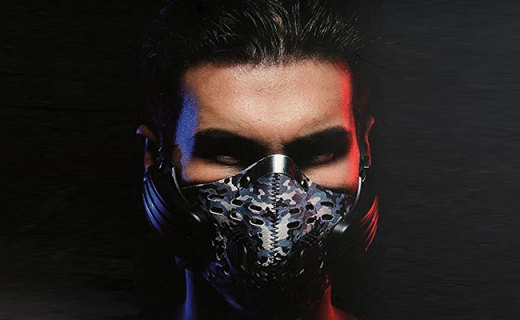 Respro PM1.0防雾霾口罩:过敏滤芯超轻透气, 低吸气阻力