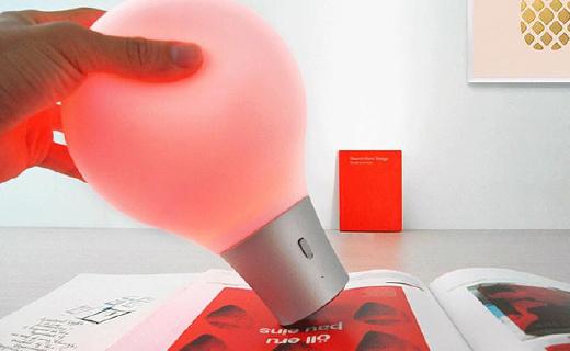 像取色笔一样神奇的吸色灯,颜色随心换