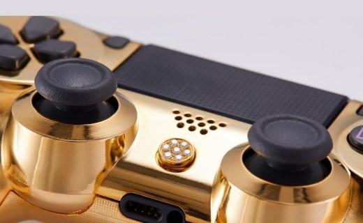 真金真钻,Brikk推出镶金钻版PS4手柄
