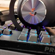 感受新震撼:罗技G PRO X可插拔轴机械键盘开箱