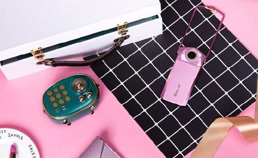 卡西欧EX-TR750限量礼盒:高像素拍摄清晰,内涵多种美颜模式