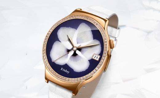 华为智能手表:蓝宝石镜面精美外观,连接蓝牙智能通话